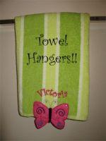 Towel Hanger Butterfly