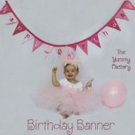 Birthday Banner Girl