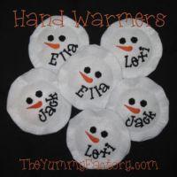 Snowman Hand Wamers
