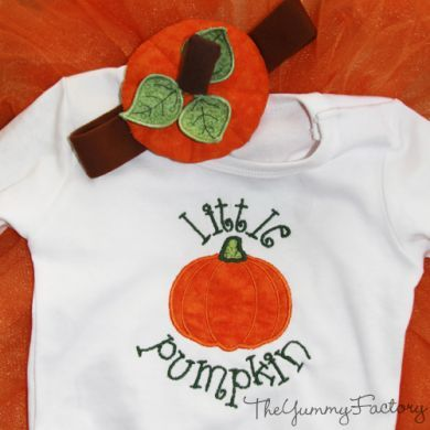 Little Pumpkin Outfit Combo Package