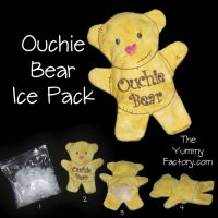 Ouchie Bear Ice Pack