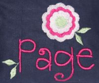 Page Font