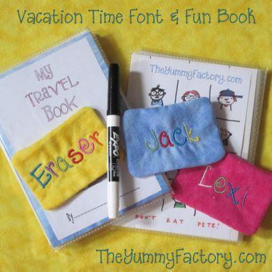 Travel Fun Book