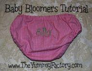 Bloomers Tutorial