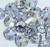 ss30 (6mm) Flat Back Crystal 72 Stones