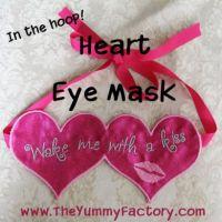 Heart Eye Mask
